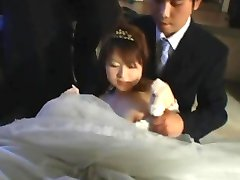 Asian bride gets hardcore group fucking part5