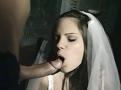 Wicked italian priest comforting disapointed bride