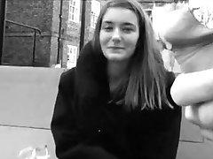 UK Girls Staring and Touching FLASHING DICKS!