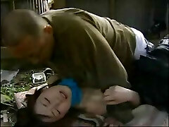 Asian love story with this little teen romped by older guy