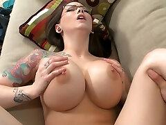 Good-sized titted boss Ashton Pierce
