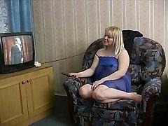 Strange Russian Blonde fuckin