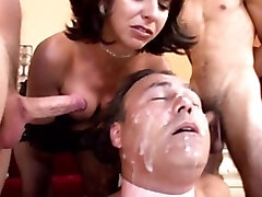 Wow cock sucking dream becomes reality!