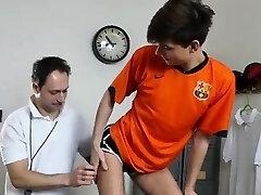 Dilf coach barebacking skinny schoolgirls ass