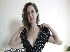 Erotic older dame in sexy lingerie loves part4