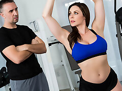 Kendra Lust & Keiran Lee in Intimate Trainers: Session 1 - Brazzers
