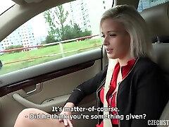 Ria Sun Public Sex in a Car