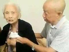 Ασιατικές Ζευγάρι Ηλικιωμένων