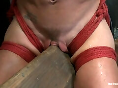 Hard Bodied Slut, Felony, is Torn Apart During a Lengthy Day of Brutal Torture