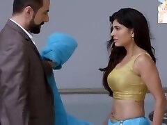 Πολύ σέξι μπλε Σαάρι αφαίρεση n Φιλί πολύ πολύ ρομαντικό σέξι