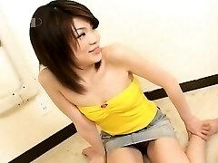Ιαπωνικά σέξι πρωκτικό κουτούπωσε και γέμισε με το σπέρμα