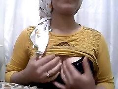 Türkish hijap δείξει bigass APOLET