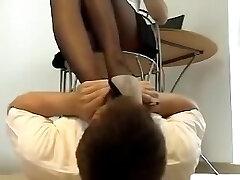 Σεξουαλική πόδια μυρίζοντας