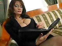 Mature Big-boobed Secretary Sex