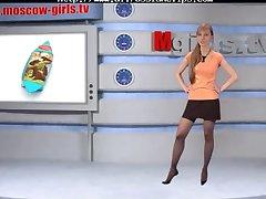 Olga Barz Russian Moskow Babe Tv russian cumshots swallow