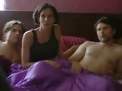Polyamory: Married and Dating (Threesome erotic scene) MFM