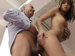 Busty gf brutal anal orgasm