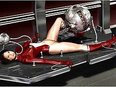 3D Alien Robots vs Λυκάνθρωπους!