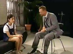 Shy Schoolgirl gets Shaved by teacher