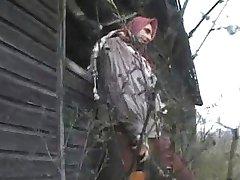 Μελαχρινή fucked από 2 Στρατιώτες