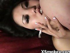 Voluptuous Sweetie Pervert Fetish Smoking Hardcore