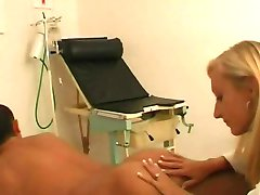 Blonde Doctor Fucks Her Patient