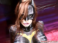 Batgirl Finger Fucks A Man in the Ass?! Shanda Fay!