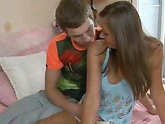 Gorgeous exgirlfriend gagging