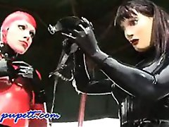 Wild Naughty Vibrant Fetish Latex Roleplay
