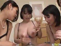 AzHotPorn.com - Lascivious Ladys Passionate Titty Fuck