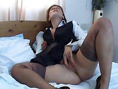 masturbation in nylon