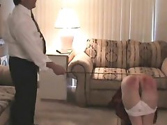 Make Dom girl gets a hard spanking