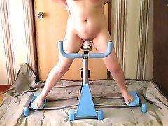 Άσκηση μηχανές για τη γυναίκα