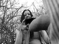 UK Women Staring and Touching Demonstrating DICKS!