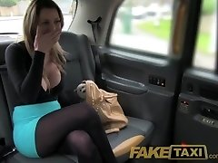 FakeTaxi Handsome blonde with huge tits