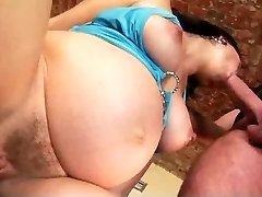 Young Pregnant Pounding