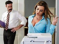 Natasha Cute & Charles Dera in Office Initiation - Brazzers