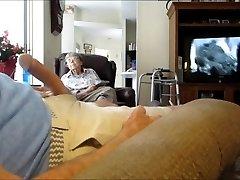 Flash boner for wifes mother