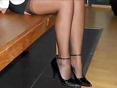 Feet & HEELS OF MY PROSTITUTE Wifey -- mdm