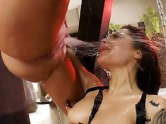 This squirting assfuck threesome will make you rock hard