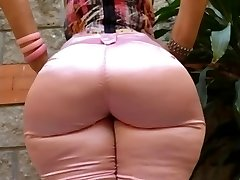 Cougar Mature in tight jeans big ass caboose mom phat booty