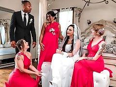 Whitney Wright & Ricky Johnson στο Αγγελικό Νύφη Πρωκτικό Άγγελος - RKPrime