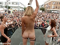Folsom Street Performance The Ultimate Humiliation Of Mona Wales - PublicDisgrace