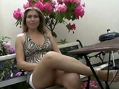 Lady Milf pummeled by two Construction Workers