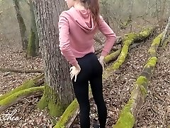 Forest Running, Anal Fucking, Public Cumming