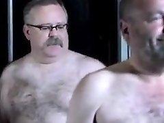 Tim in the sauna