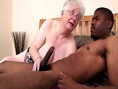 Caroline Grannie Black Cock