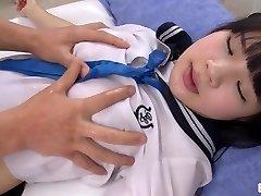 Hop in the Bathtub with Schoolgirl Ami - Erito