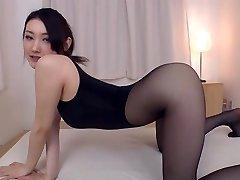 Pantyhose fetish she's happy to indulge