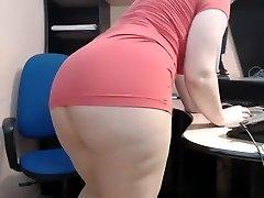 mature lady in office cam JAMEYLA73 cb part 2.